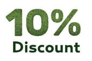 10% off lawn care