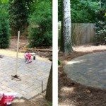 """Fire pit """"Before & After"""""""
