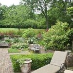 Backyard, brick walkways & landscaping