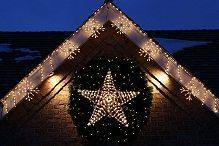 Lights Star Wreath